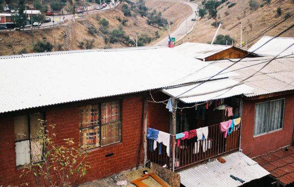 Construcciones habitacionales del Cerro 18.